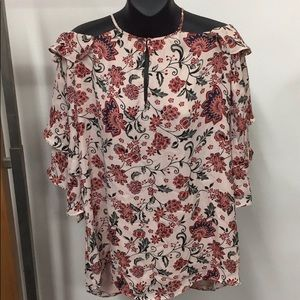 Brand new with tag! Parker floral off shoulder top